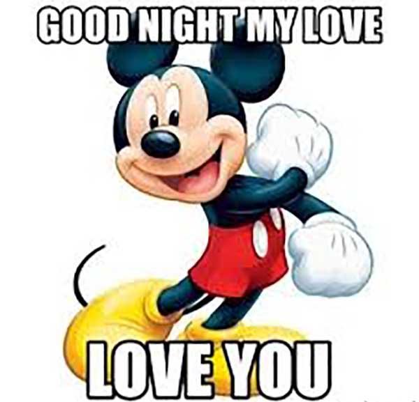 good night my love meme i love you