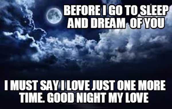 good night my love memes