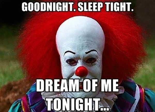 goodnight sleep tight dream of me tonight