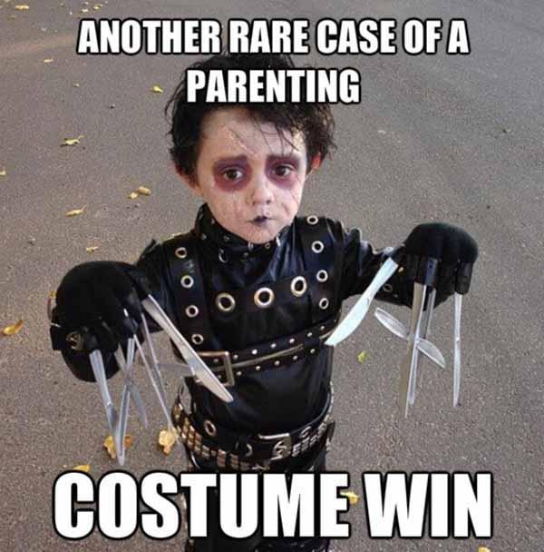 halloween costume win