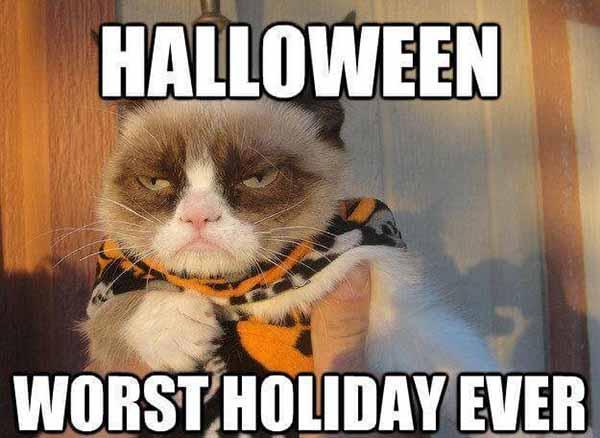 hate halloween meme