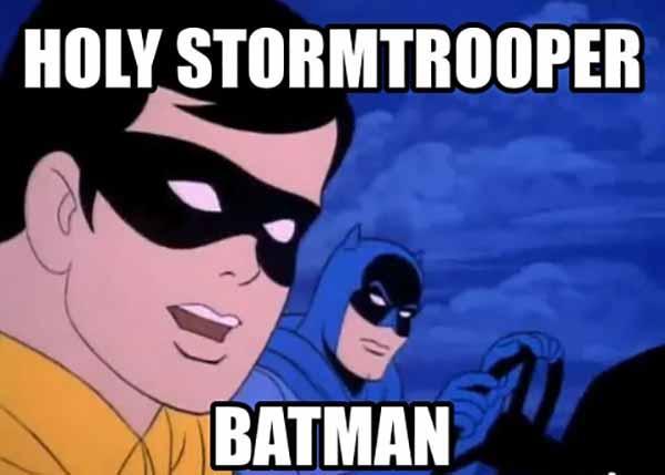 holy stormtroop batman