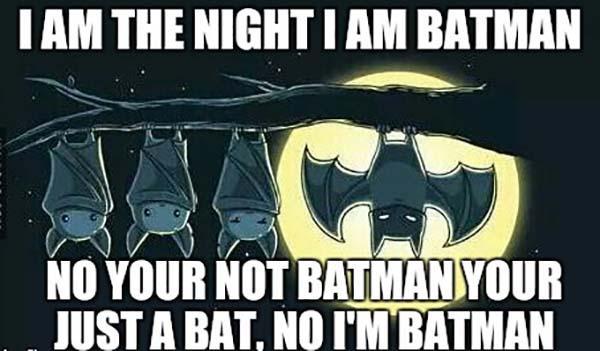 i am batman meme