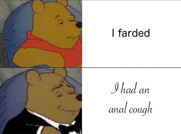 i farted... fart meme