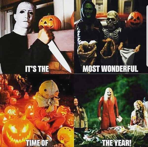 it's the most wonderful time of the year - halloween meme