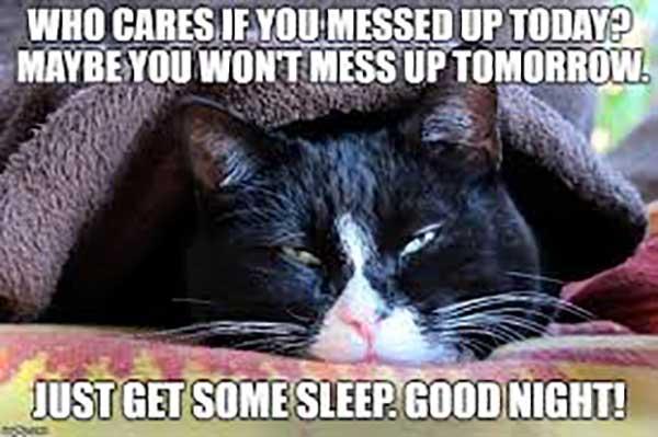jet get some sleep good night
