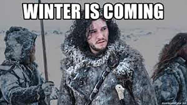 jon snow winter is coming meme