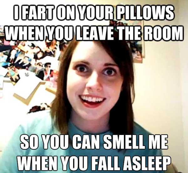 lady fart meme