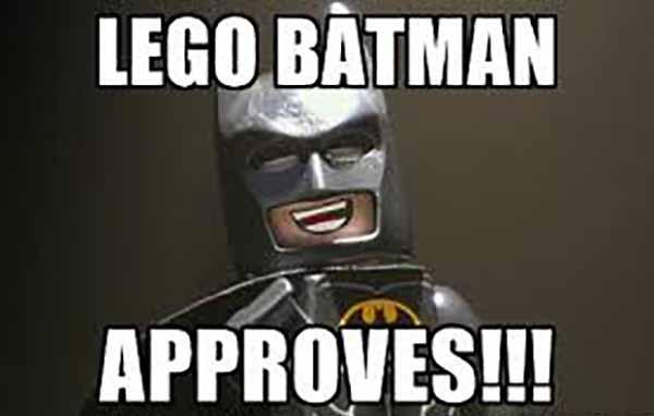 lego batman approves