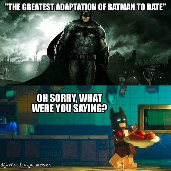 lego batman meme the greatest adaption of batman to date