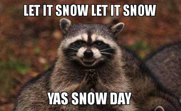 let it snow meme