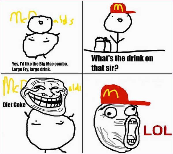 mcdonald troll meme