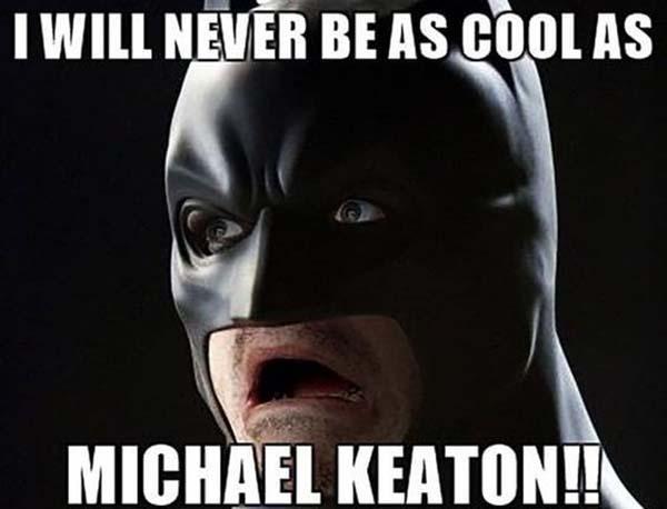michael keaton batman meme