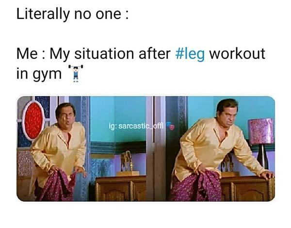 my situation after leg day meme