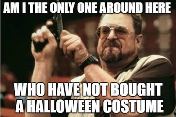 not bought Halloween not bought Halloween Costume Meme