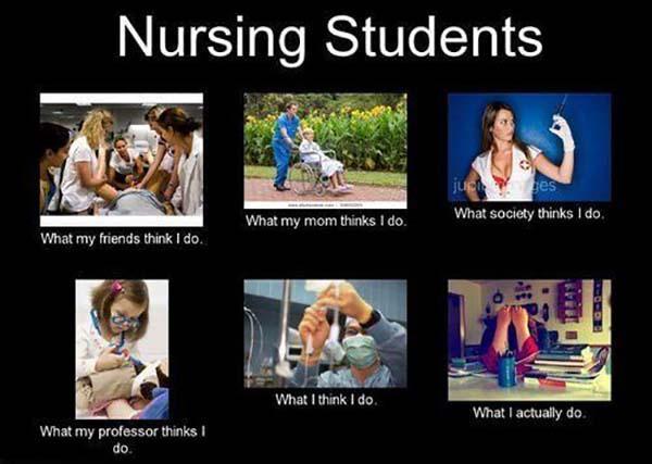 nurse meme what i actually do