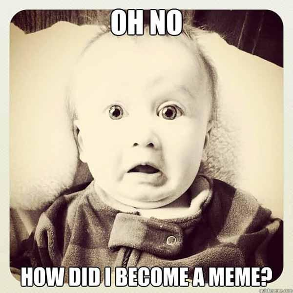 oh no baby meme