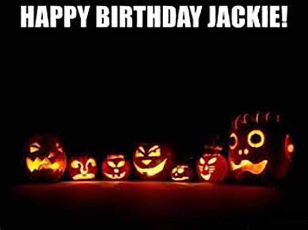 pumpkin happy birthday halloween