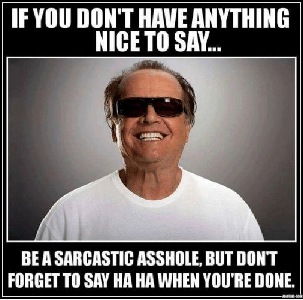 sarcastic meme you don't say