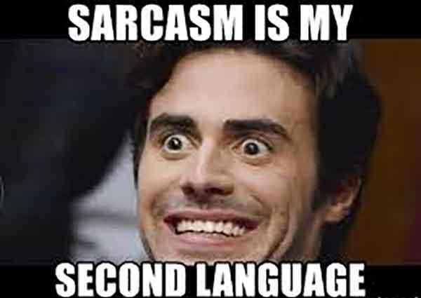 sarcastic smile meme