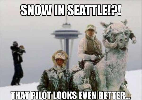 seattle snow meme