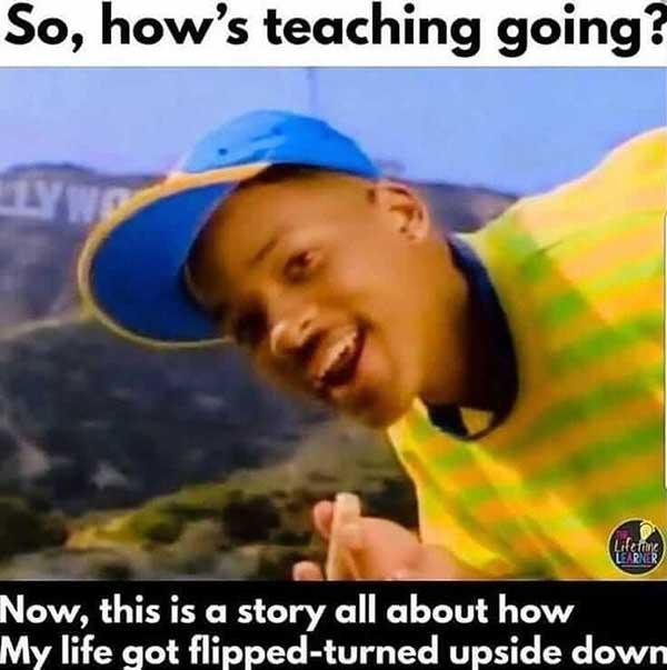 so how's teaching going...