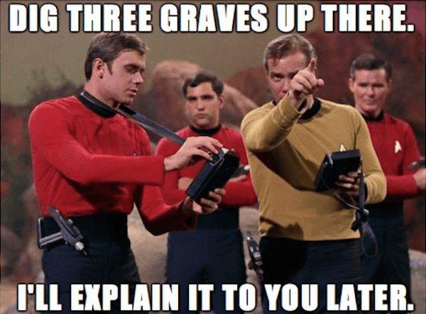 star trek captain kirk meme