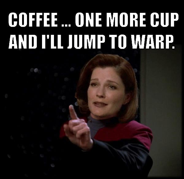 star trek coffee meme
