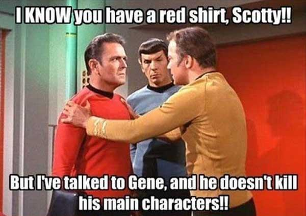 star trek red shirt meme