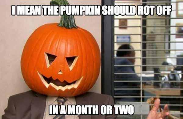 the office halloween meme
