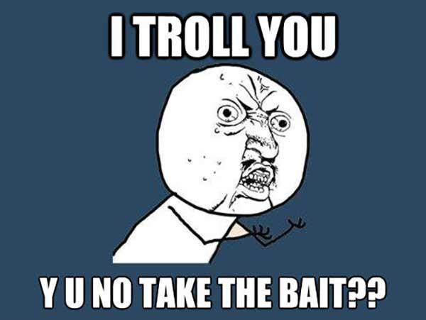 troll bait meme