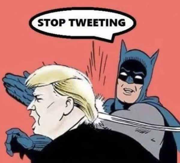 trump batman meme