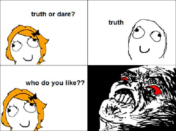 truth or dare troll meme