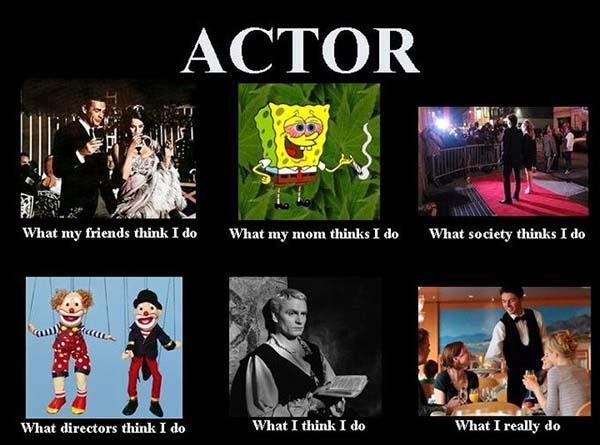 what i actually do meme actor
