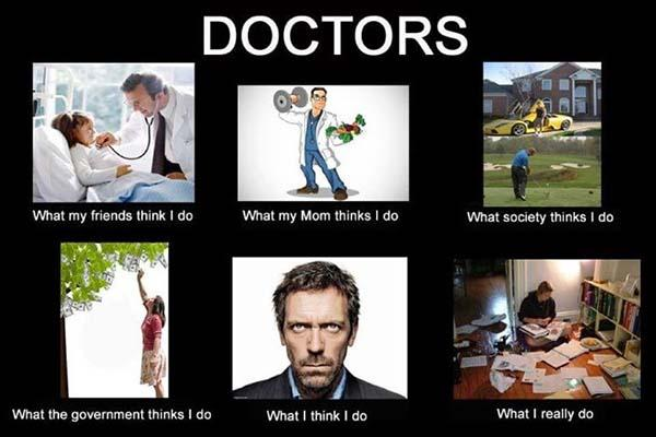 what i actually do meme doctors