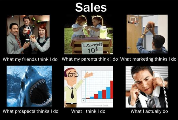 what i actually do meme sales