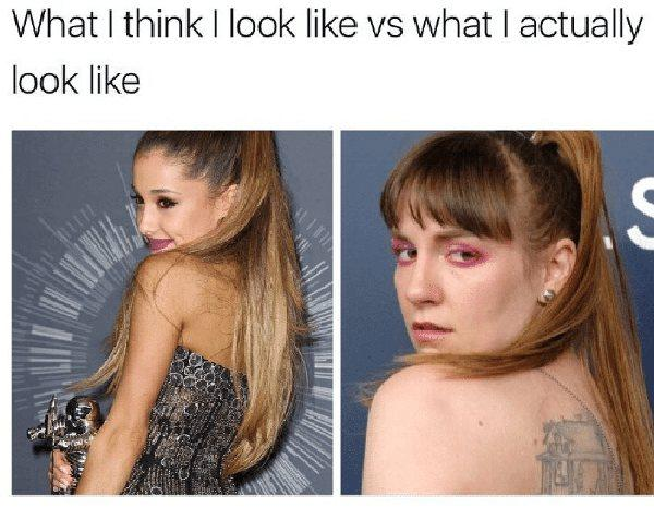 what i actually look like meme funny