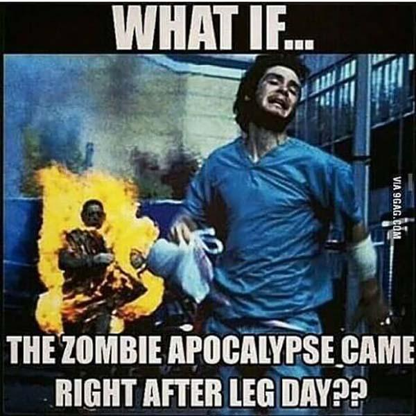 what if... Leg day meme