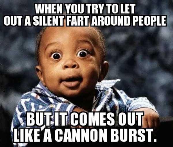 when you fart meme