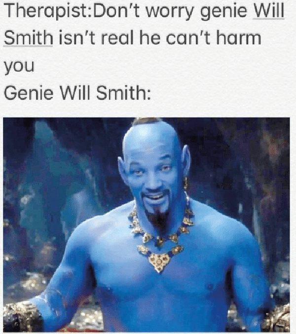 will smith genie meme