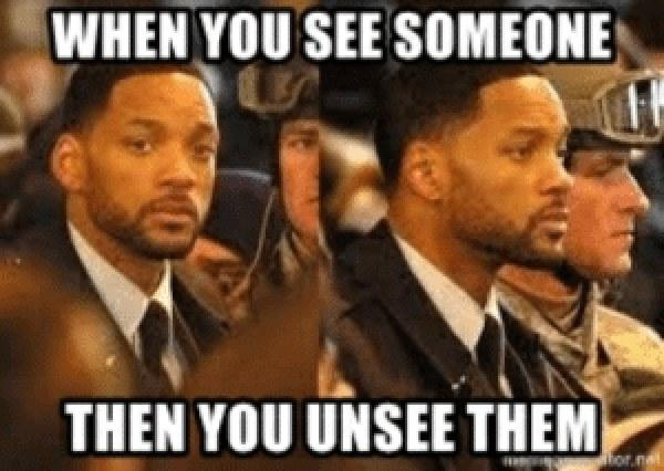 will smith meme looking away