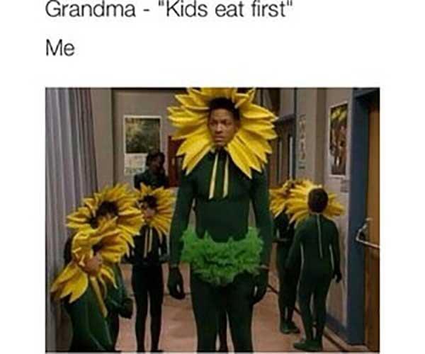 will smith sunflower meme