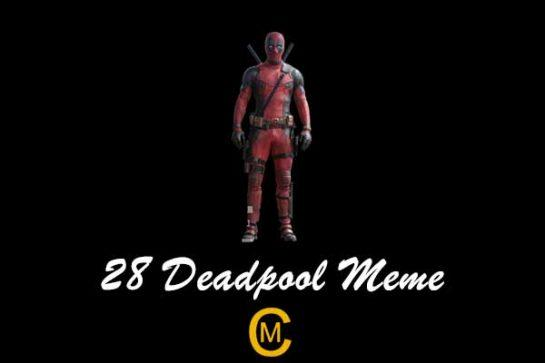 28 Deadpool Meme
