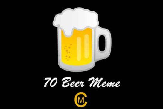 70 Beer Meme
