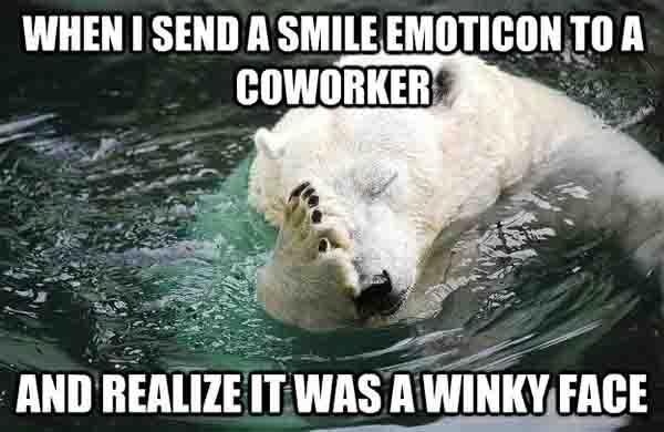 Embarrassed Polar Bear memes