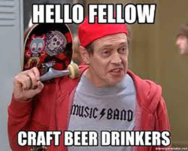 Hello fellow Craft beer drinkers