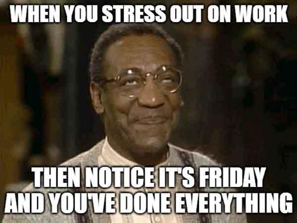 When you stress out on work - work stress meme