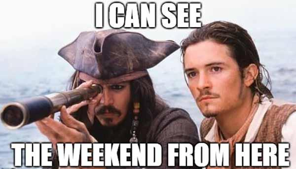 almost the weekend meme