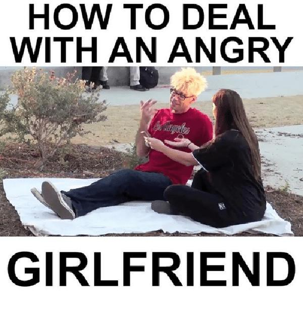 angry girlfriend meme