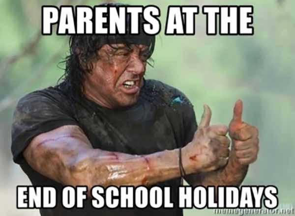 back to school meme for parents